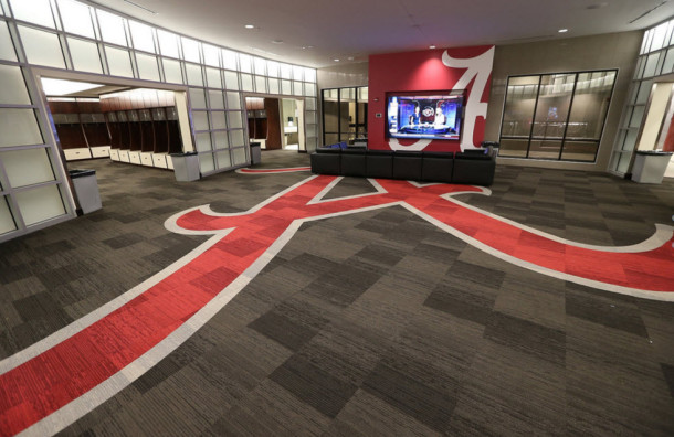 Alabama locker room