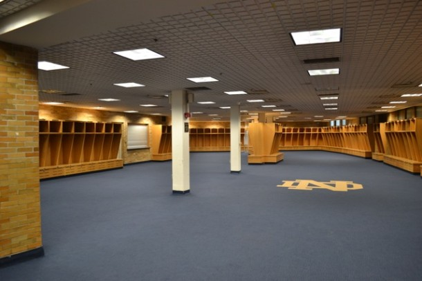 notre dame lockers