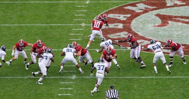 NCAA Football: Georgia Southern at Alabama