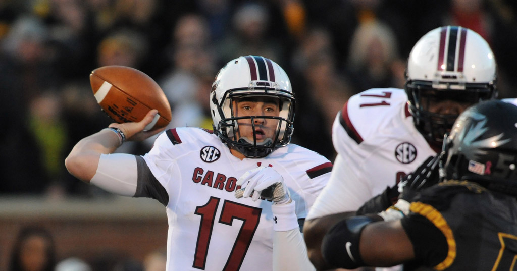 NCAA Football: South Carolina at Missouri