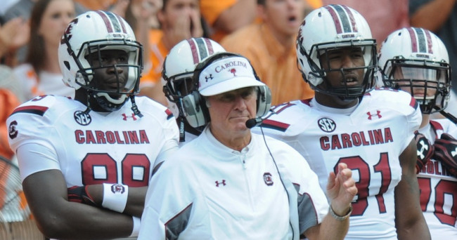 NCAA Football: South Carolina at Tennessee