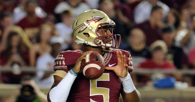 Fsu quarterback and heisman winner jameis winston is suspended for the