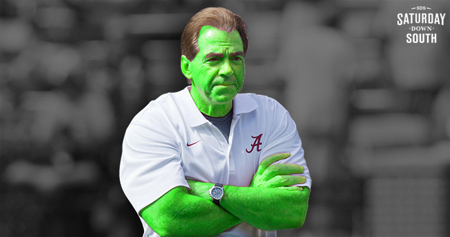 Nick Saban Halloween Costume