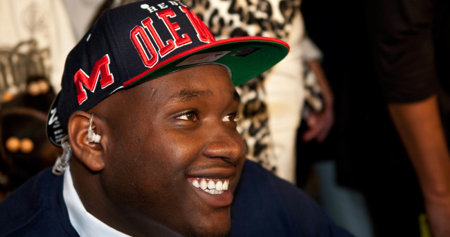 High School Football: National Signing Day-Laremy Tunsil