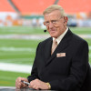 Miami Gardens, FL - January 7, 2013 - Sun Life Stadium: Lou Holtz on the set of College GameDay Built by the Home Depot prior the 2013 Discover BCS National Championship Game (Photo by Allen Kee / ESPN Images)