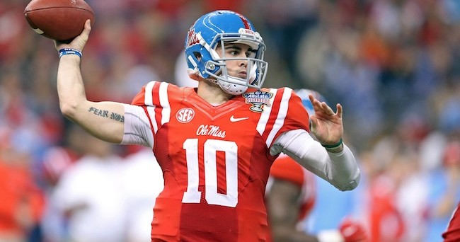 Ole Miss deserves preseason top 15 ranking thanks to Chad Kelly