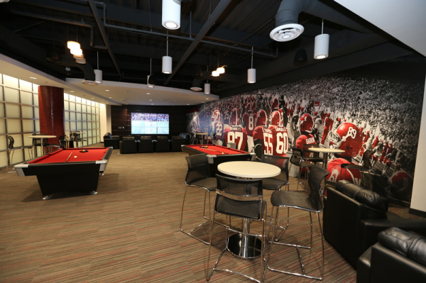 The South\'s Best College Football Facilities & Locker Rooms