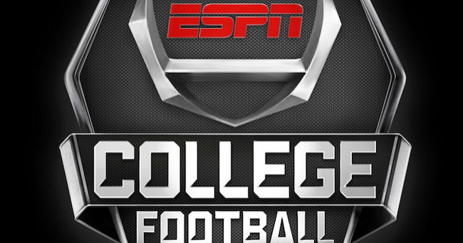 espn top 25 ncaa football foorball games