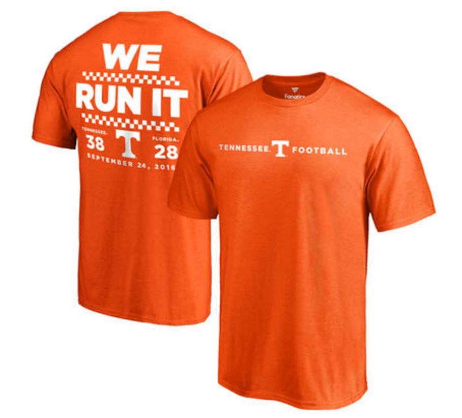 Tennessee Vols T Shirt Celebrating Florida Win Going Viral