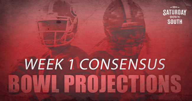 record, yet the consensus bowl projections aren't that bad