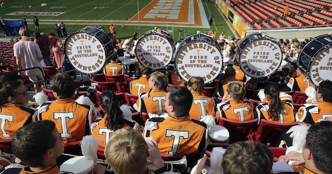 Tennessee band Mark Zerof-USA TODAY Sports